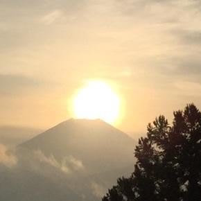 ダイヤモンド富士観賞会2日間を終えて